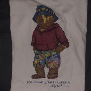 Ralph Lauren Polo Beach Bear Size XL - Vintage